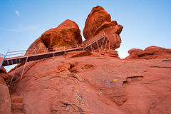 Valley of Fire Park in Nevada, USA Royalty Free Stock Image