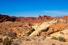 Valley of Fire Provincial Park, Nevada, USA Stock Images