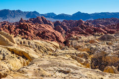 Valley of Fire Provincial Park, Nevada, USA Royalty Free Stock Images