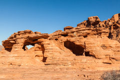 Valley of Fire Red Rock Landscape Royalty Free Stock Photography
