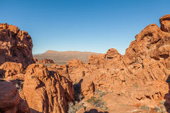 Valley of Fire Red Rock Landscape Royalty Free Stock Photos