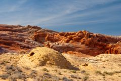 Valley of Fire Red Rocks stock photo
