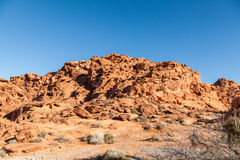 Valley of Fire Red Rocks Royalty Free Stock Photo