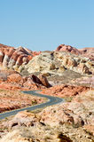 Valley of Fire Road Royalty Free Stock Image