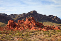 Valley of Fire Rock Formation Stock Photo