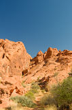 Valley of Fire rock formations Stock Image