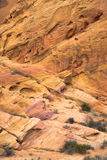Valley of Fire rock formations Stock Images