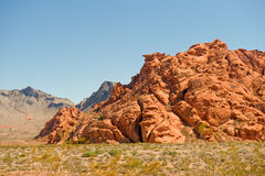 Valley of Fire Rocks Royalty Free Stock Photos