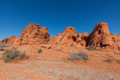 Valley of Fire Scenic Landscape Royalty Free Stock Image