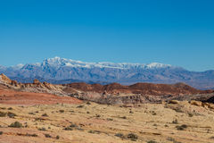 Valley of Fire Scenic Landscape Royalty Free Stock Photos