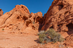 Valley of Fire Scenic Royalty Free Stock Photography