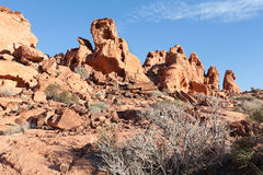 Valley of Fire State Park Royalty Free Stock Photos