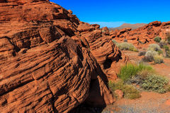Valley of Fire State Park Royalty Free Stock Images