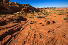 Valley of Fire State Park Stock Photography