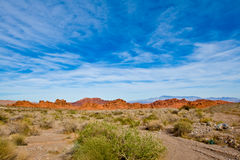 Valley Of Fire state Park. Landscape in Valley Of Fire state Park Royalty Free Stock Photos