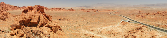 Valley of Fire State Park near Las Vegas, Nevada, Stock Images