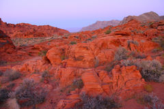 Valley of Fire State Park - Nevada Royalty Free Stock Photography