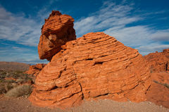 Valley of Fire State Park in Nevada Royalty Free Stock Photos