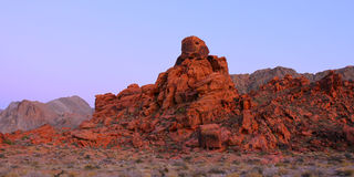 Valley of Fire State Park - Nevada Stock Image