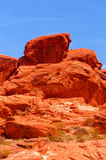 Valley of fire Stock Photography
