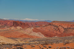 Valley of Fire State Park Nevada Landscape Stock Photography