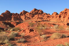Valley of Fire State Park, Nevada Royalty Free Stock Photography