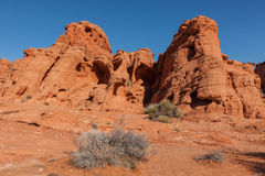Valley of Fire State Park Nevada Scenic Stock Image