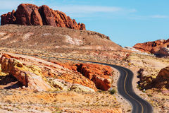 Valley of Fire Royalty Free Stock Image