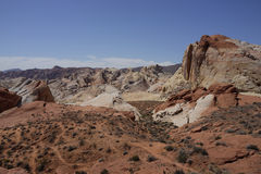 Valley of Fire State park (Nevada, USA) Stock Images