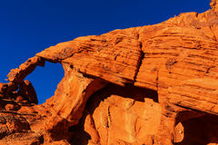 Valley of Fire Stock Image