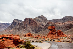 Valley of Fire State Park Panorama Royalty Free Stock Photo