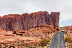 Valley of Fire State Park Panorama Royalty Free Stock Image