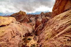 Valley of Fire State Park Panorama Stock Photos