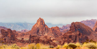 Valley of Fire State Park Panorama Stock Images