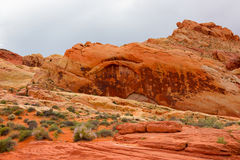 The Valley of Fire State Park, USA. Stock Image
