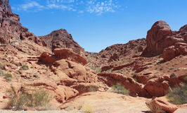 A Valley of Fire State Park View Stock Photo
