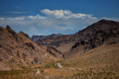 Valley of fire in United States Stock Images