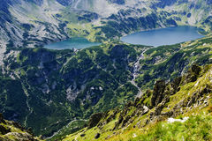 Valley of five ponds Polish, in the Tatras Stock Photo
