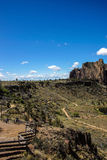 Valley floor of the Crooked River Royalty Free Stock Images