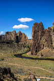 Valley floor of the Crooked River Royalty Free Stock Image