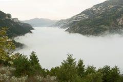 Valley Of Fog Stock Photos