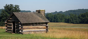 Valley Forge hut Royalty Free Stock Photography