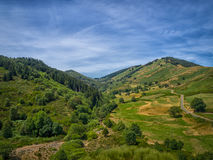 A valley in the French Cevennes Stock Image