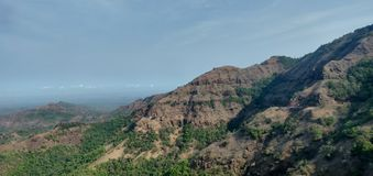 Valley of gaganbawda, kolhapur-kokan highway royalty free stock photo