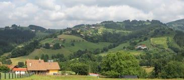 Valley at Garai Royalty Free Stock Photography