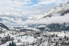 Valley of Gastein Royalty Free Stock Image