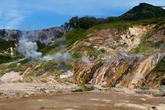 Valley of Geysers. Kamchatka Stock Photo