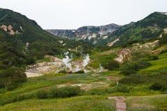 Valley of Geysers. Kamchatka Stock Photography