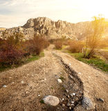 Valley of Ghosts in mountains Royalty Free Stock Images