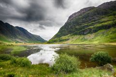 Valley of Glencoe Stock Photo